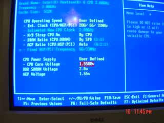 BIOS Screenshot